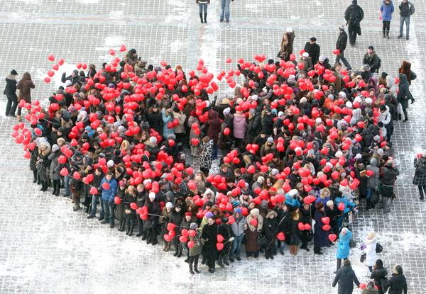 Празднование Дня Всех Влюблённых в разных странах мира