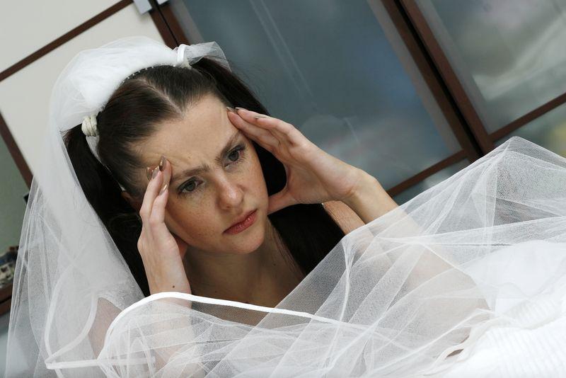 Как перестать нервничать в ожидании свадьбы?
